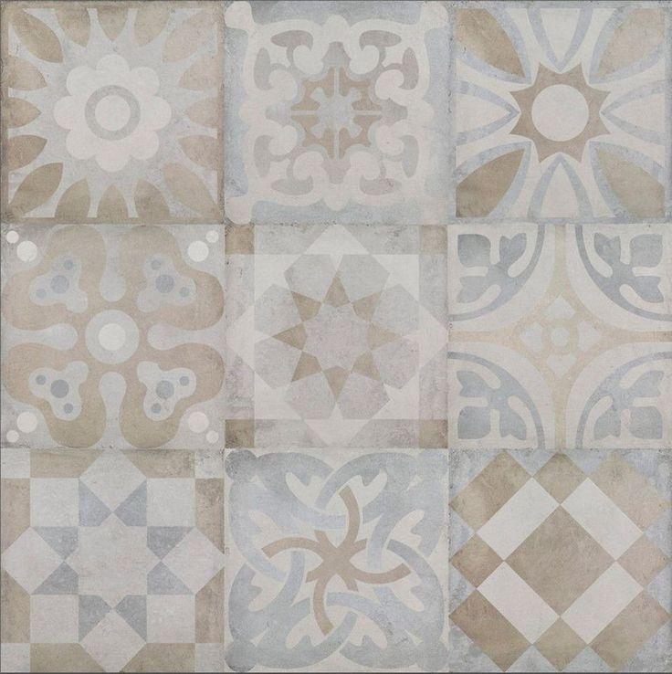 District Town Mix Decor от Colorker Напольная плитка 45x45 керамическая плитка и…