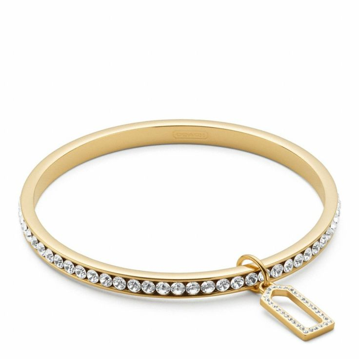 The Pave Bangle from Coach