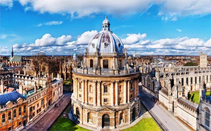 Одно из зданий Бодлеанская Библиотека Оксфорд Англия 'Главная Decorationr Холст Печать Плакатов