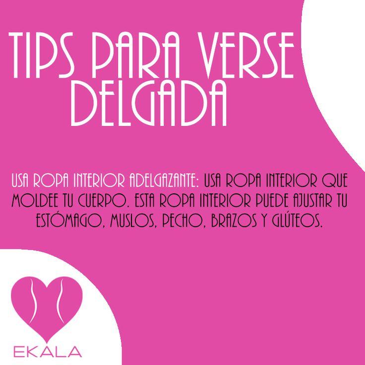 Usa ropa interior que moldee tu cuerpo. #comodidad #ekala