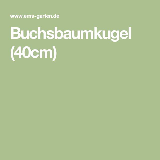 Buchsbaumkugel (40cm)
