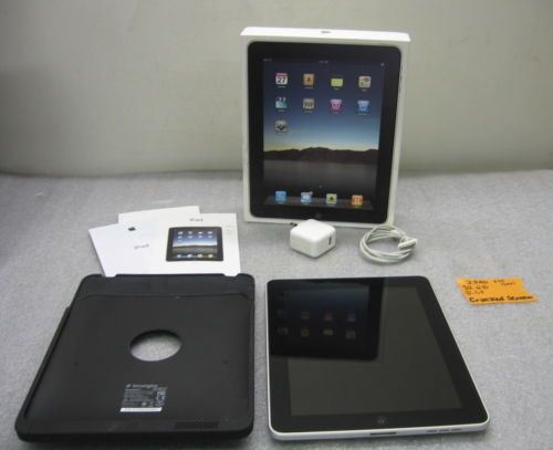 Apple iPad 1st Generation 32GB A1219 as Is Needs Repaired   eBay