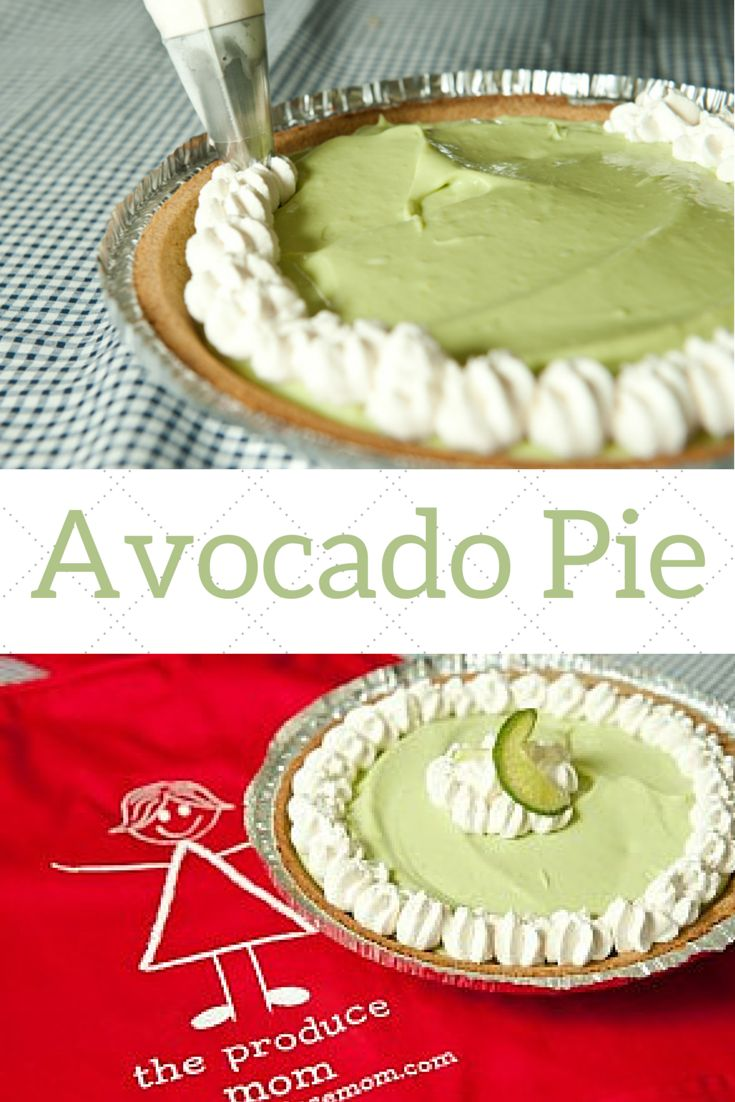 Avocado Pie | That same velvety decadence of a custard pie, without all the butter and cream. This pie is easy to make!