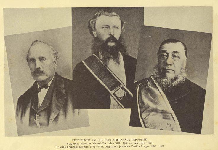 Presidents of the Zuid-Afrikaansche Republiek (Transvaal)