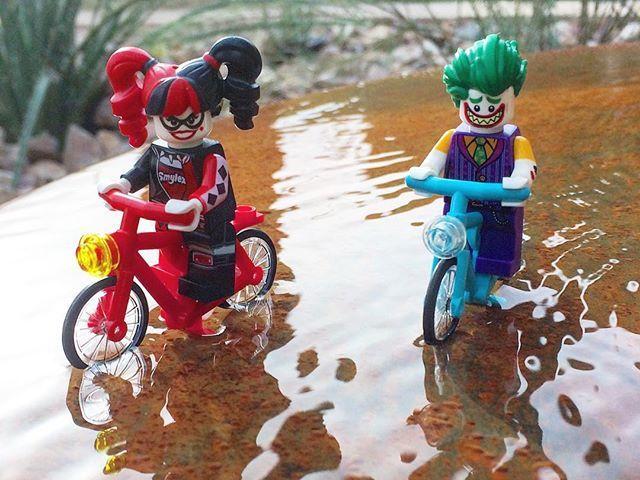Keep up pudin' #harleyquinn #joker #batman #legobatman