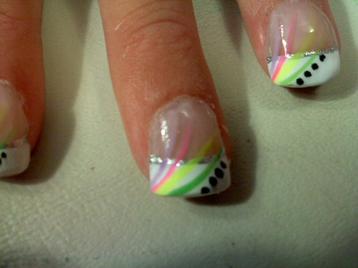 Mejores 40 imágenes de Nails- french en Pinterest | La uña, Uñas ...