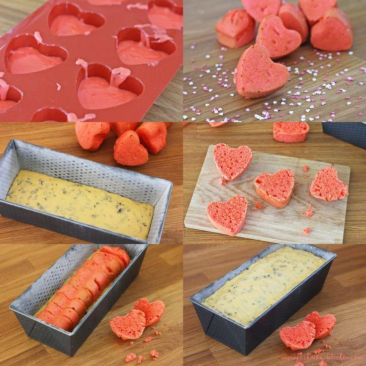 Valentins Herz Kuchen
