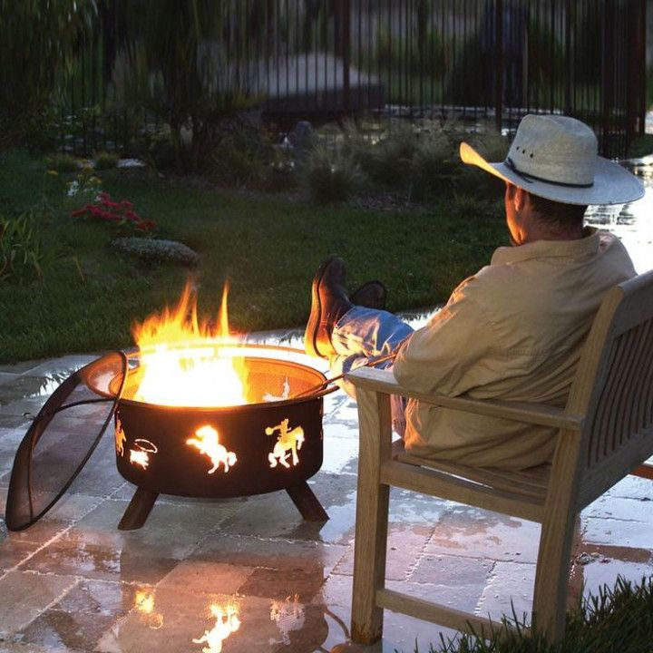 Cowboy Fire Pit Grill Accessories Best Quality Furniture Check More At Http Testmonsterblog Com Cowboy Fire Pi Fire Pit Portable Fire Pits Cowboy Fire Pit