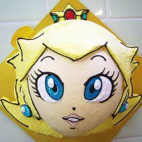 ピーチ姫 キャラクターケーキ