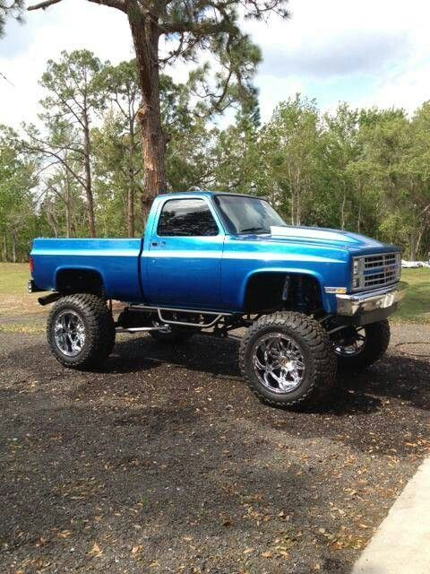 128 best Lifted Classic trucks images on Pinterest ...