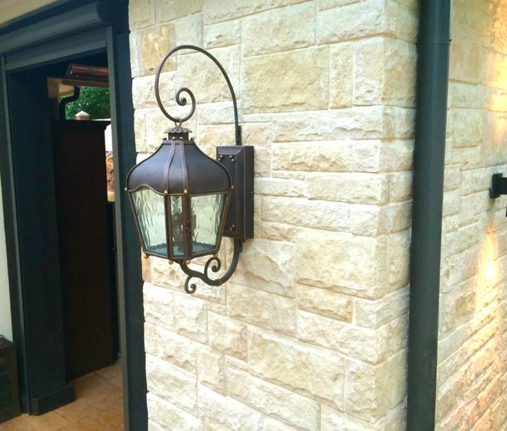 Dallas Landscape Lighting mounted this high end outdoor light - 26 Best High End Light Fixtures Installed By Dallas Landscape