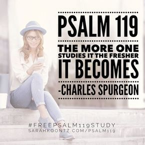 Are you hungry for spiritual nourishment? This 23-day study of Psalm 119 will provide you with the SOULfood you crave. #freepsalm119study | Free Online Bible Study for Women | Christian Inspiration | Tips and Ideas for Studying Gods Word | Free Printables | Psalms