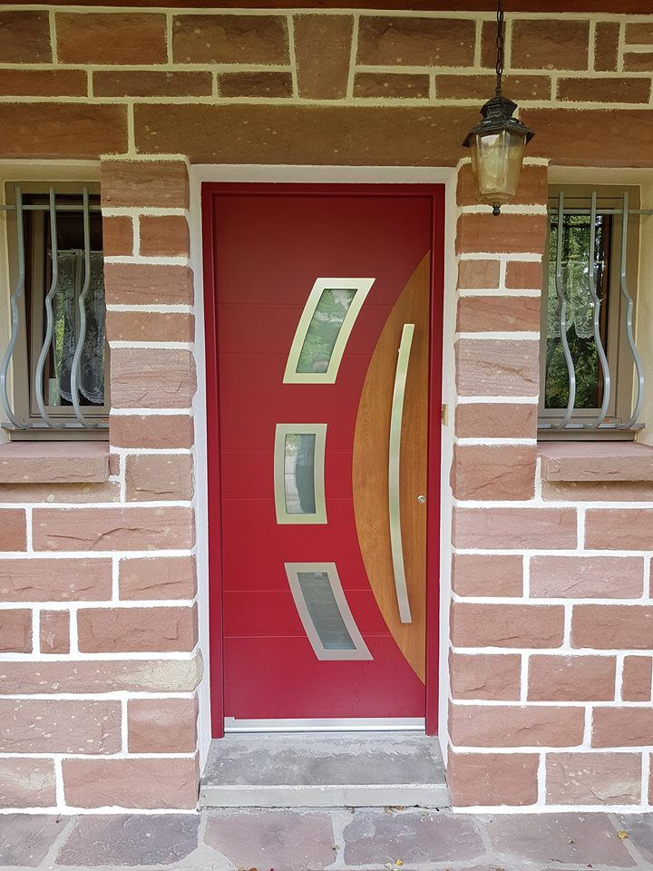 Pose d\u0027une de nos portes d\u0027entrée Portes d\u0027entrée Pinterest - pose d une porte d entree
