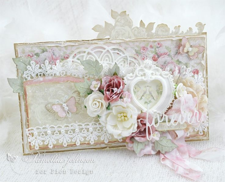 17 best images about scrap style vintage shabby on - Vintage karten basteln ...