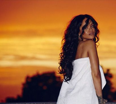 Hot hårtrend: Naturlige krøller - Rihanna