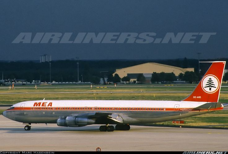 Middle East Airlines - MEA OD-AHD Boeing 707-323C aircraft picture