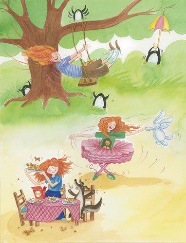 "blog.illustrationcastle.com » Portfolio | ""Because I Love You"" children's book illustrations"