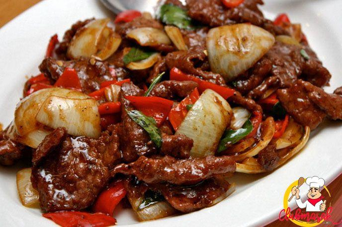 Resep Sapi Lada Hitam, Daging Sapi Teriyaki, Club Masak
