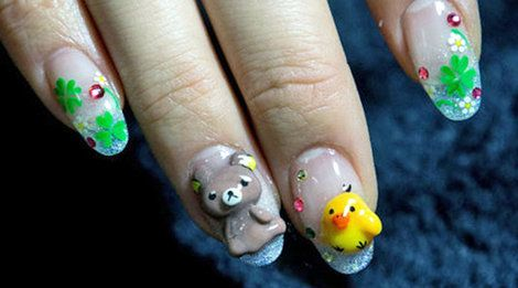 Photos: Cool, cute, and wild nail art in Japan