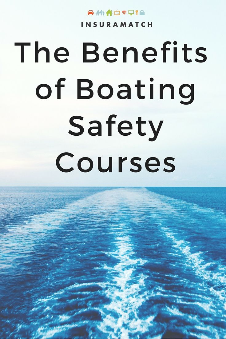 A water safety course can not only save your life but it can qualify you for some major boat or PWC insurance discounts.