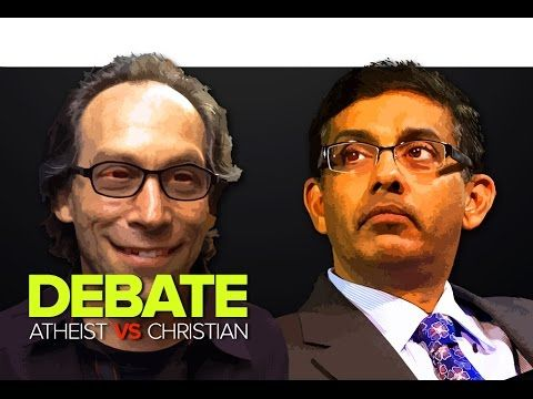 debate atheists vs christians krauss shermer vs d souza