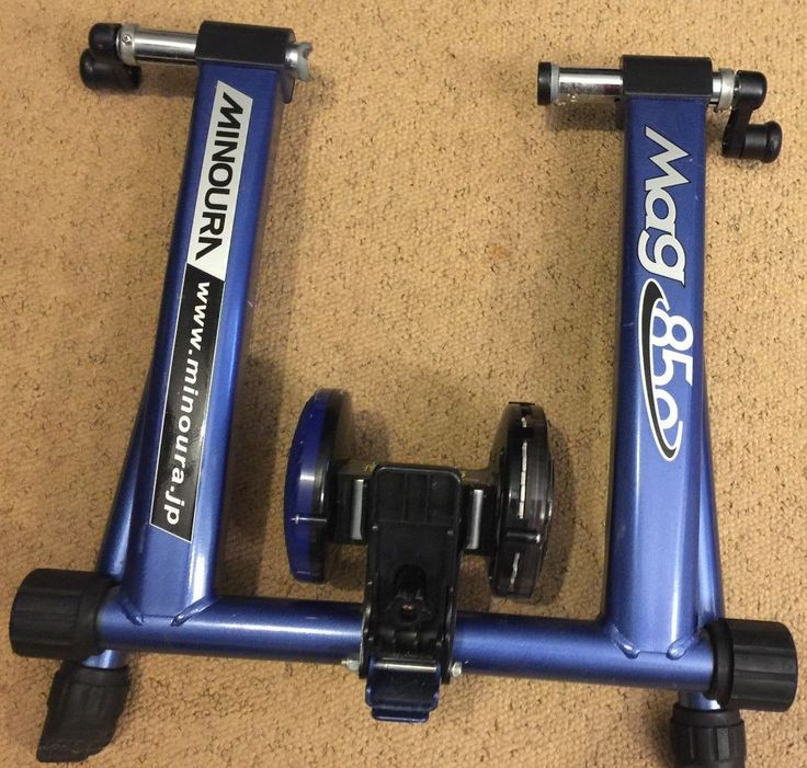 Minoura Rda 850 Rim Drive Action System Indoor Bike Trainer Bicycle Blue  #Minoura