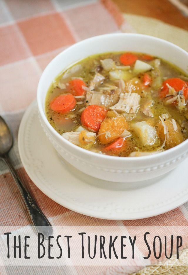 The Best Turkey Soup + Cooking in Bulk