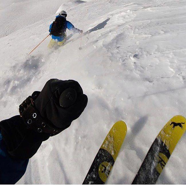 This repost from @powdermatt has us stoked for a trip to @kickinghorsemtn this winter! (Thanks Matt!) #exploremag #explorecanada #skistoke