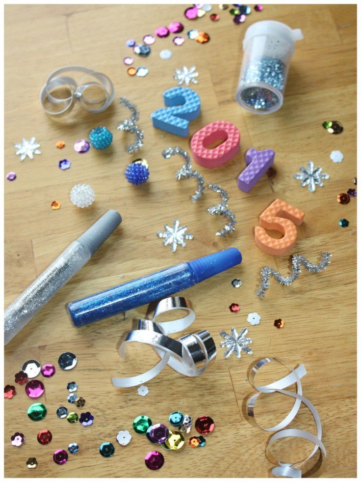 New Years Discovery Bottle Materials