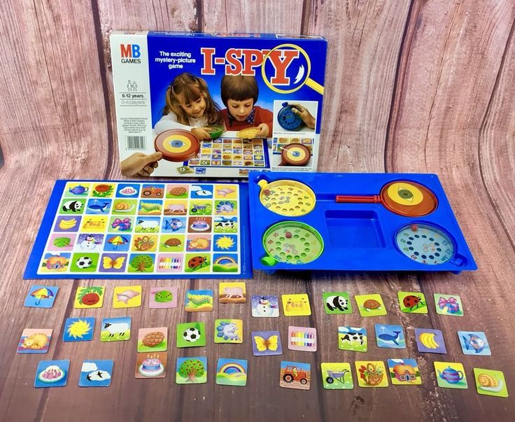 Board Games I Spy mystery picture Family Game Party Fun Gift 🎁 100 % Complete