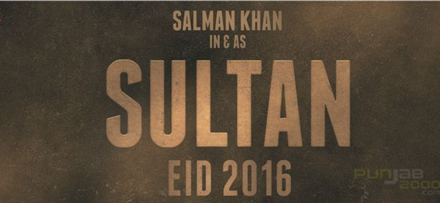 SALMAN KHAN IN AND AS SULTAN. Produced by Aditya Chopra and written-directed by Ali Abbas Zafar, the film will commence shooting in November and will release on Eid 2016