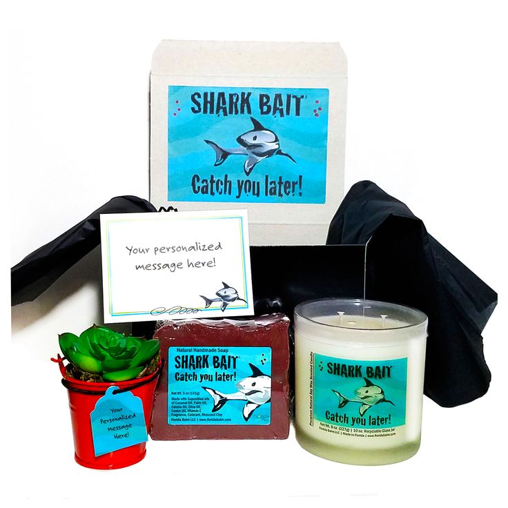 SHARK Personalized Gift Box Care Package