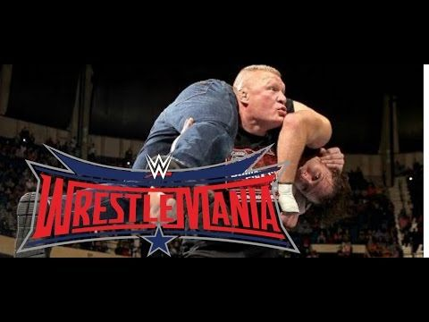 """WrestleMania 32 SHOCKING WWE BACKSTAGE NEWS ON BROCK LESNAR DEAN AMBROSE WrestleMania 32 Match - http://positivelifemagazine.com/wrestlemania-32-shocking-wwe-backstage-news-on-brock-lesnar-dean-ambrose-wrestlemania-32-match/ http://img.youtube.com/vi/_sNI_lFf04E/0.jpg  """"Sean'z View On YOUTUBE Of WWE Rumors & WWE Headlines (My Unique Commentary/Criticism & VIEW With Over 82000 Youtube Subscribers – Plus MORE … Judy Diet Programme ***Start yo"""