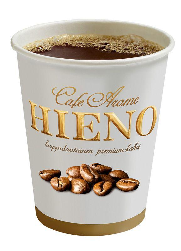 Kahvi, 1 €. Norm. 1,70 €. Spice Ice, E-taso.