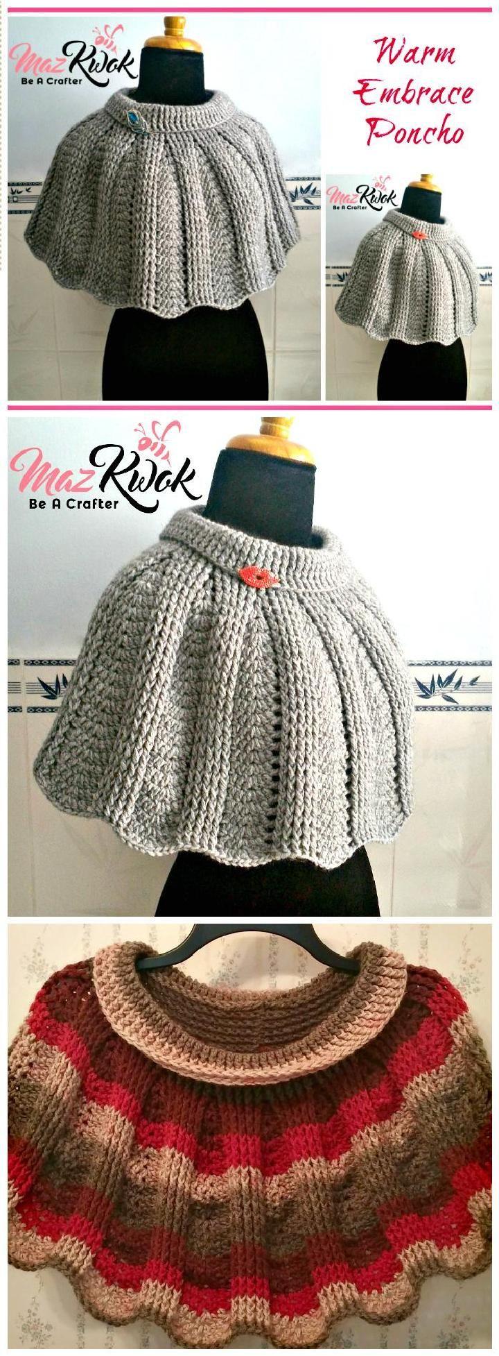 24340 best crochet images on pinterest crocheting filet crochet 20 free crochet summer poncho patterns for womens bankloansurffo Images