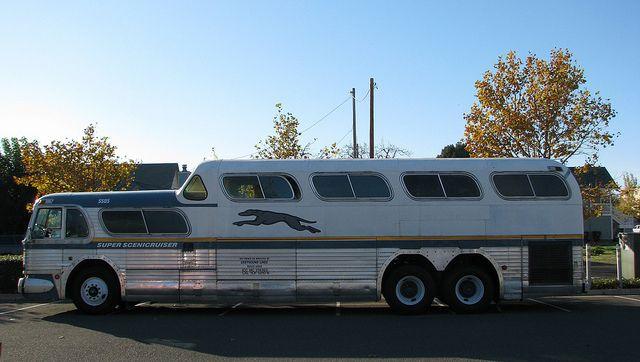 1955 Gm Greyhound Scenicruiser Bus 5505 1 Model Pd4501