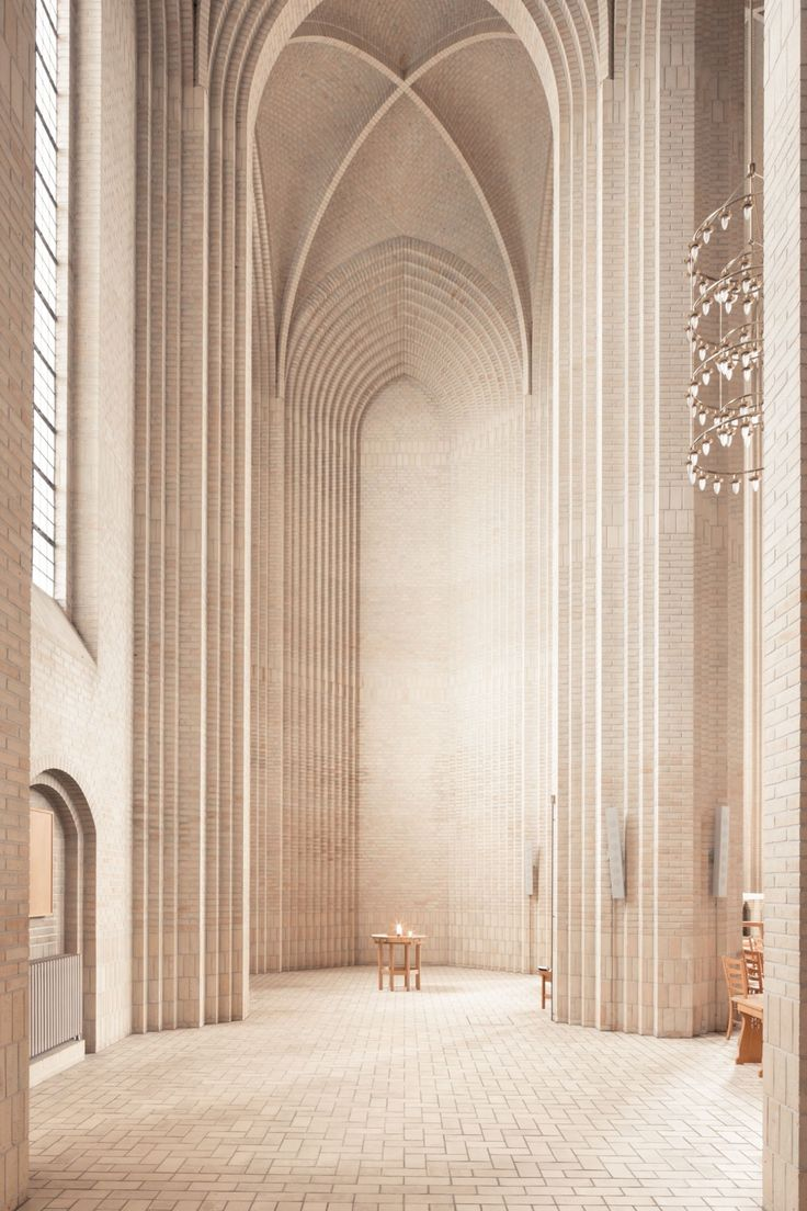 The Grundtvig church in Copenhagen. Made out of 6 million yellow bricks, it took almost 20 years to complete. Easy to say this is one of the most beautiful churches built in the 1900s. Photography by Thibaud Poirier