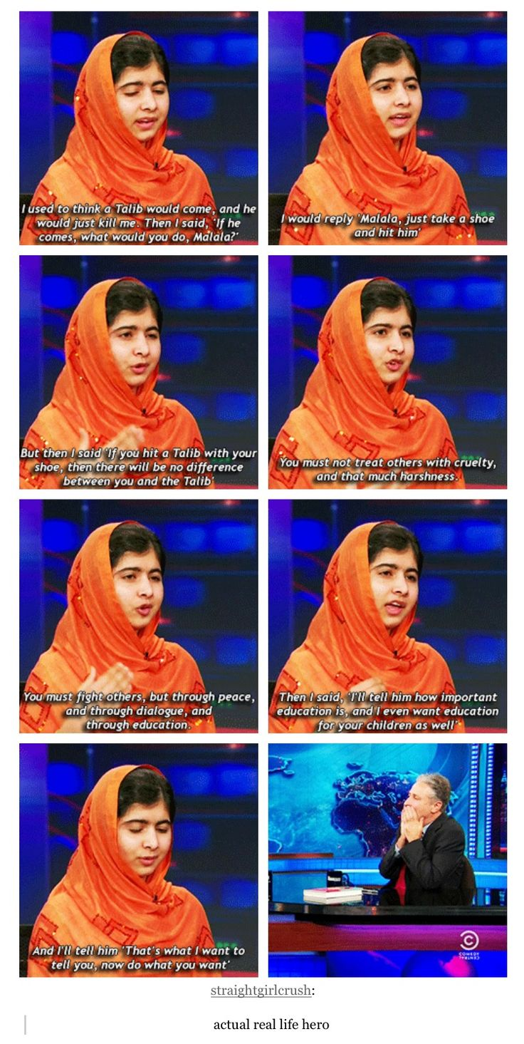 I love her so much. If you haven't read her book you should, it's fantastic.