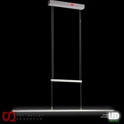 INIGO Zug-Pendelleuchte / 19W LED dimmbar / 110cm / Alu-matt Bild1
