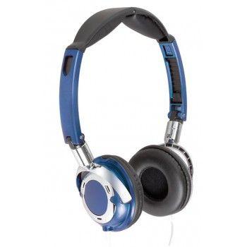 Casque audio filaire bleu haute qualité    #promo #promotions #reduction #discount #soldes #cadeau #casque