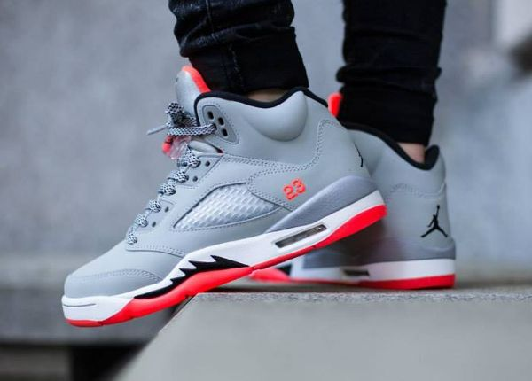 Air Jordan 5 Retro GG 'Wolf Grey/Hot Lava' post image