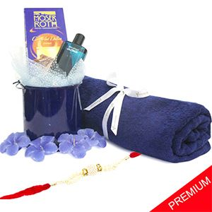 The luxurious combo is specially embedded to make your loved one feel really special. Rs 3499/- http://www.tajonline.com/rakhi-gifts/product/r4845/luxurious-spa-combo/?Aff=pint2014/