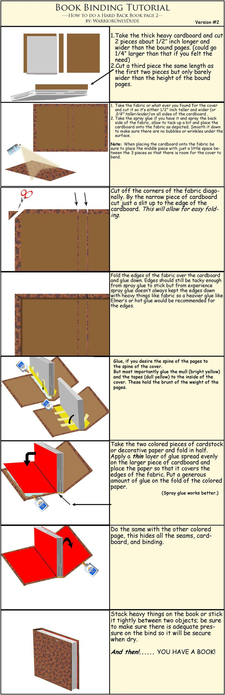 Book Tutorial pg 2 by warrioronlydude.deviantart.com on @deviantART