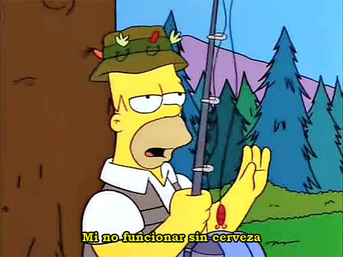 """Mas Simpsons aqui """