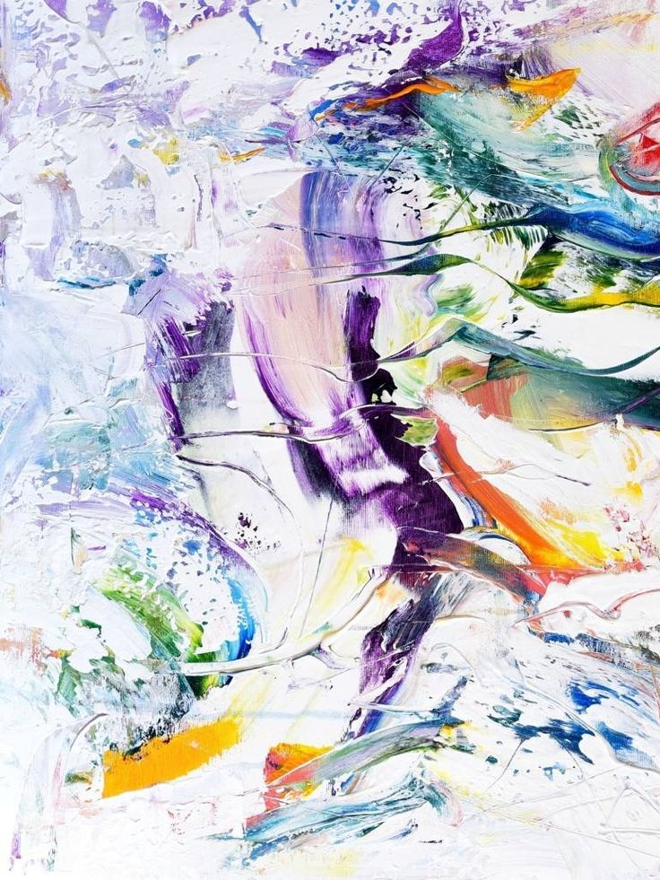 Catharsis, a Acrylic on Canvas by Radek Smach from Czech Republic. It portrays: Abstract, relevant to: positive, rainbow, colors, energy, abstract, happy, joy Radek Šmach - Original abstract layered painting on canvas.