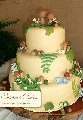 wedding cake nature 1000 images about nature themed cakes on 23298
