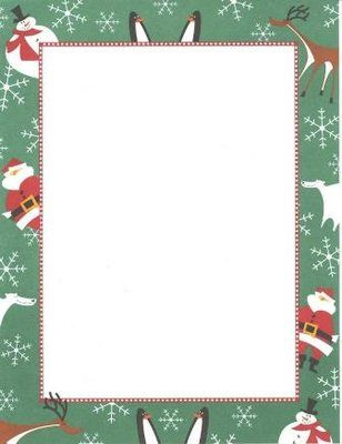 ... scraps clips borders printables borders backrounds winter stationery