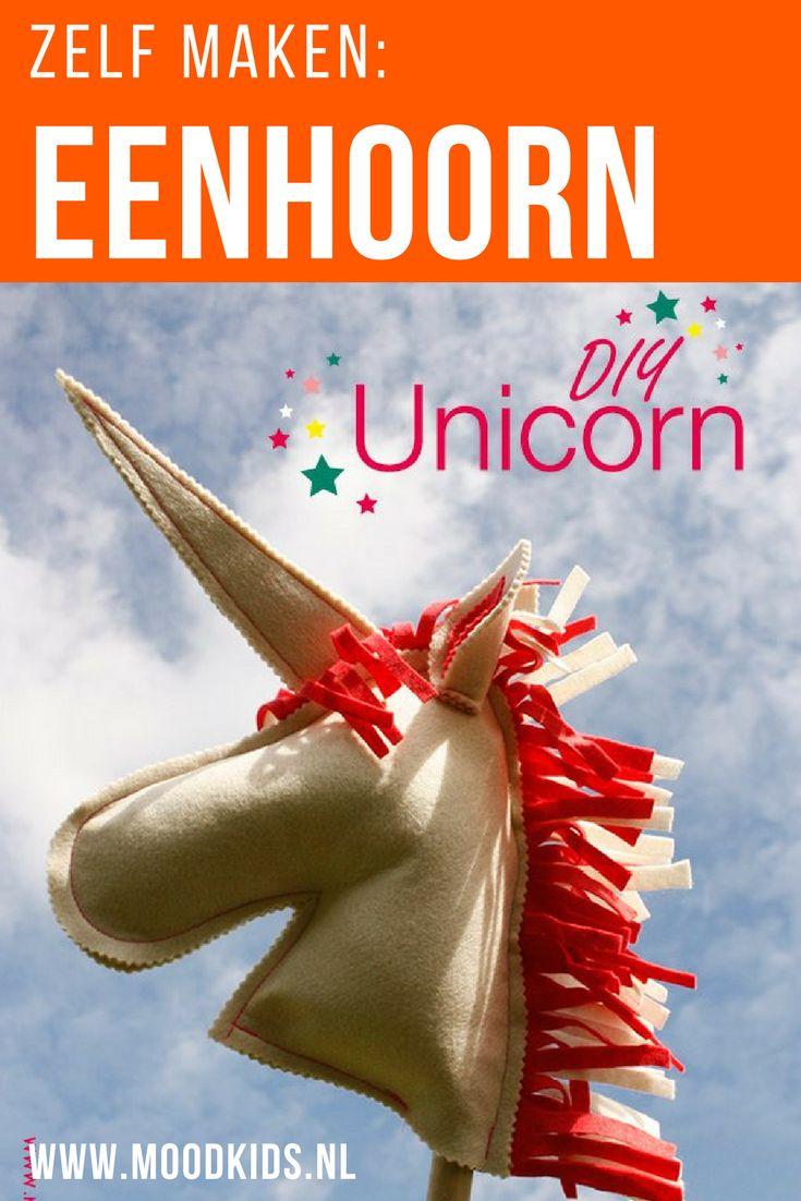 Van een stokpaard maak je zelf heel eenvoudig een prachtige eenhoorn. Lees onze handige stap voor stap uitleg voor deze unicorn diy. Superleuk natuurlijk in het wit en roze.