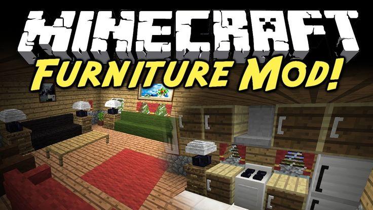 Мод Furniture на мебель в майнкрафт 1.7.10