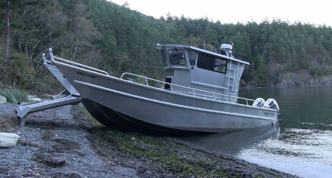 Barco Inovador Consegue Sair Da Água Sozinho Com Este Incrível Sistema